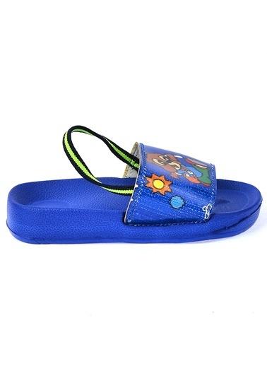 Kiko Kids Kiko Akn E405.084 Plaj Havuz Kız Çocuk Sandalet Terlik Saks